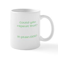 In Plain DOS Mug