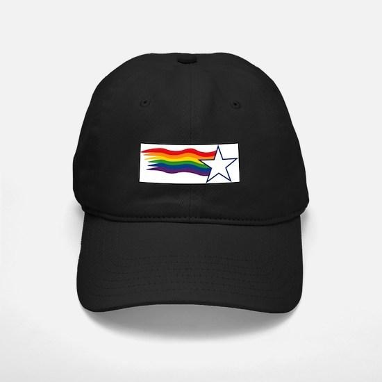 Rainbow Star Baseball Hat