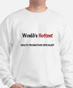 World's Hottest Health Promotion Specialist Sweats