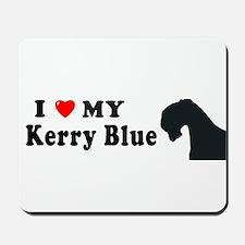 KERRY BLUE Mousepad