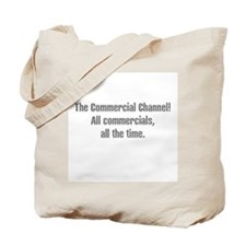 Commercial Channel Tote Bag