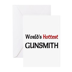 World's Hottest Gunsmith Greeting Cards (Pk of 10)