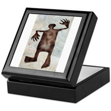 Dancing man Keepsake Box