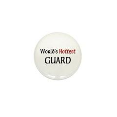 World's Hottest Guard Mini Button (10 pack)