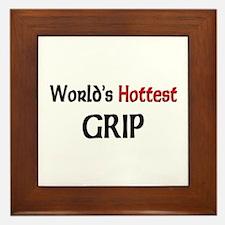 World's Hottest Grip Framed Tile