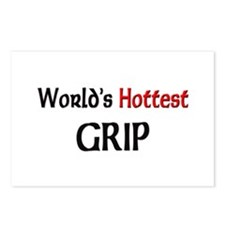 World's Hottest Grip Postcards (Package of 8)