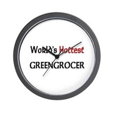 World's Hottest Greengrocer Wall Clock