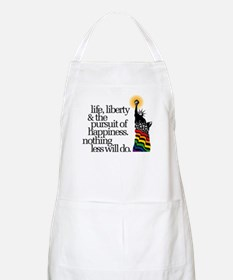 Lady Liberty BBQ Apron