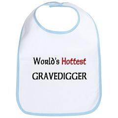 World's Hottest Gravedigger Bib