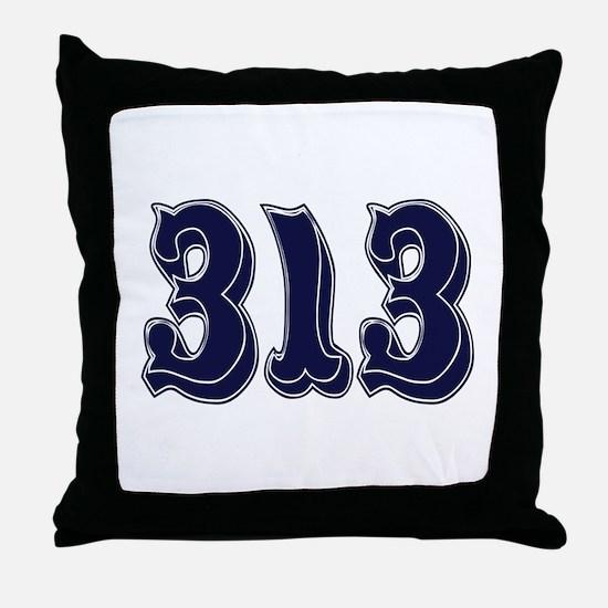 313 Throw Pillow