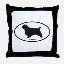 CLUMBER Throw Pillow