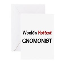 World's Hottest Gnomonist Greeting Cards (Pk of 10