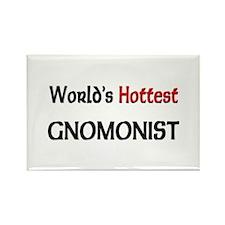 World's Hottest Gnomonist Rectangle Magnet (10 pac
