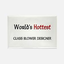 World's Hottest Glass Blower Designer Rectangle Ma