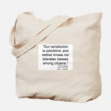 Plessy Dissent Tote Bag