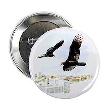 "Turkey Vulture 2.25"" Button (10 pack)"