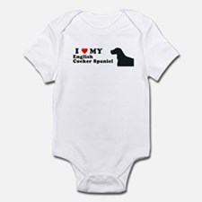 ENGLISH COCKER SPANIEL Infant Bodysuit