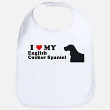 ENGLISH COCKER SPANIEL Bib