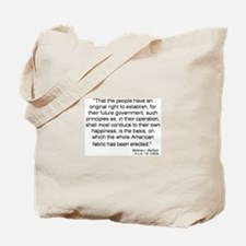 Marbury v. Madison Tote Bag