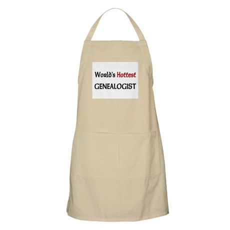 World's Hottest Genealogist BBQ Apron