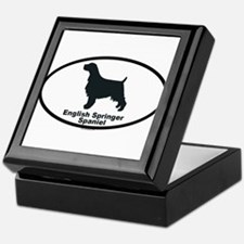 ENGLISH SPRINGER SPANIEL Tile Box