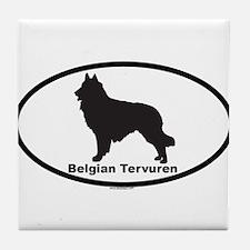 BELGIAN TERVUREN Tile Coaster