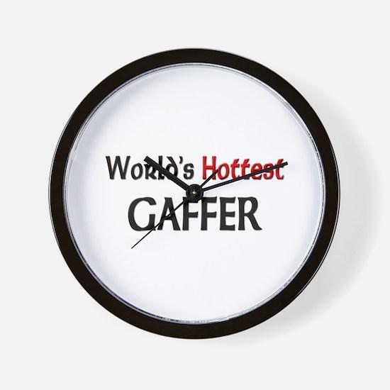 World's Hottest Gaffer Wall Clock