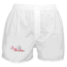 The Stalking Pink Cat Boxer Shorts