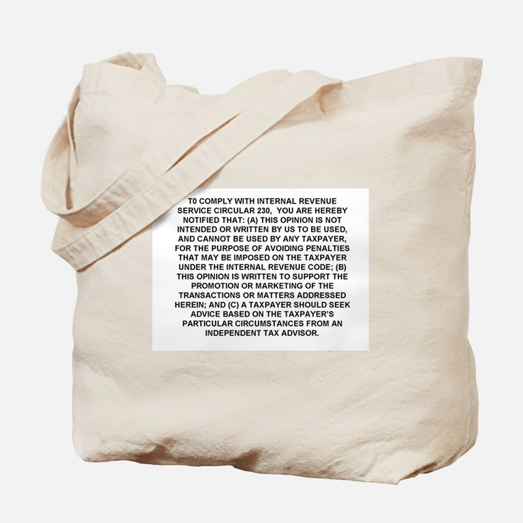 Marketed Tote Bag