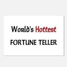 World's Hottest Fortune Teller Postcards (Package