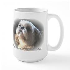Shih Tzu puppy Large Mug, puppy admiration