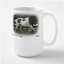 Paint Horse Dances, Large Mug, elpace