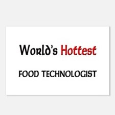 World's Hottest Food Technologist Postcards (Packa