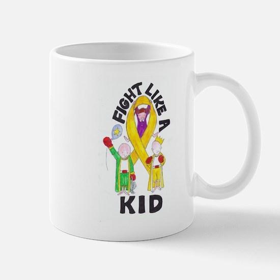 Fight Like A Kid Mug