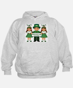 Happy St. Patrick's Day in Gaelic Hoodie