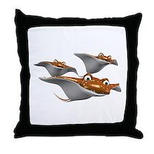 Stingray Throw Pillow