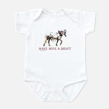 Make Mine A Draft Infant Bodysuit