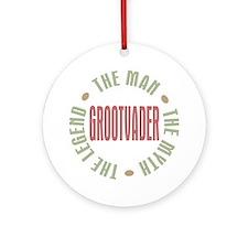 Grootvader Dutch Grandad Man Myth Ornament (Round)