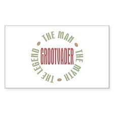 Grootvader Dutch Grandad Man Myth Decal