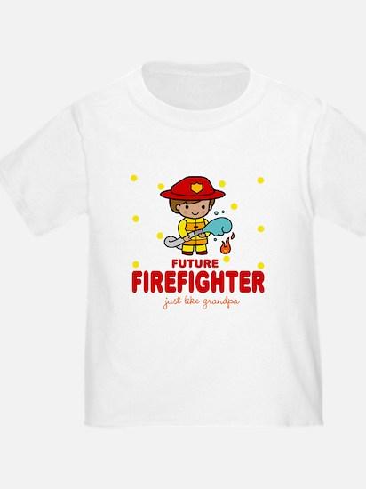 Future Firefighter like Grandpa T