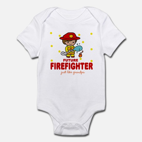 Future Firefighter like Grandpa Infant Bodysuit