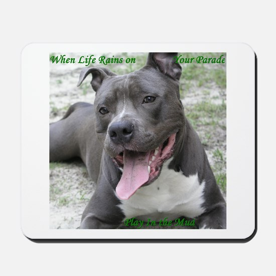 Smile With APBT Style Mousepad