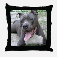 Smile With APBT Style Throw Pillow