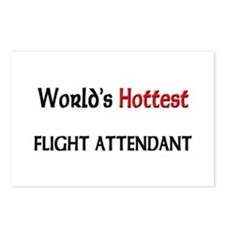 World's Hottest Flight Attendant Postcards (Packag