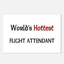 World's Hottest Flight Attendant Postcards (Packag