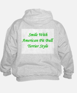 Smile With APBT Style Hoodie