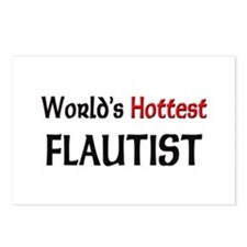 World's Hottest Flautist Postcards (Package of 8)
