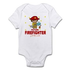 Future Firefighter like Uncle Baby Infant Bodysuit