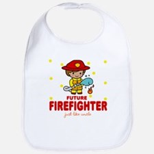 Future Firefighter like Uncle Baby Infant Bib