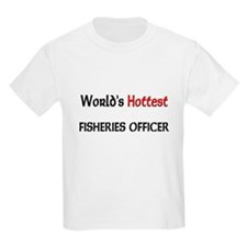 World's Hottest Fisheries Officer T-Shirt